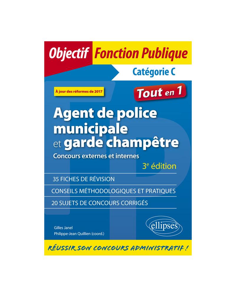 Agent de police municipale et garde champêtre - 3e édition
