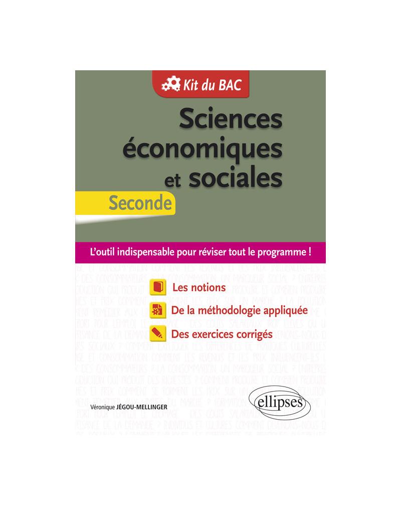 Sciences économiques et sociales (SES) - Seconde