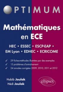Mathématiques en ECE  HEC - ESSEC - ESCP-EAP - EM Lyon - EDHEC - ÉCRICOME