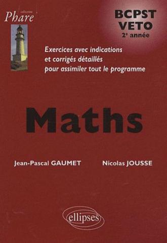 Mathématiques BCPST/Veto 2e année - Exercices corrigés