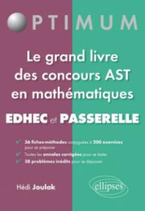 Les mathématiques aux concours Passerelle, Edhec, Ast1