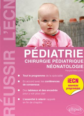 Pédiatrie, chirurgie pédiatrique, néonatologie