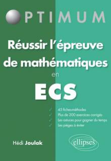Réussir l'épreuve de mathématiques en ECS