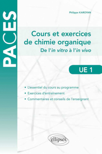 UE1 - Cours de Chimie organique (avec QCM)