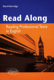 Read along. Reading professional Texts in English