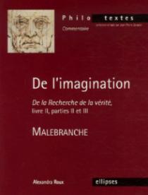 Malebranche, De l'imagination