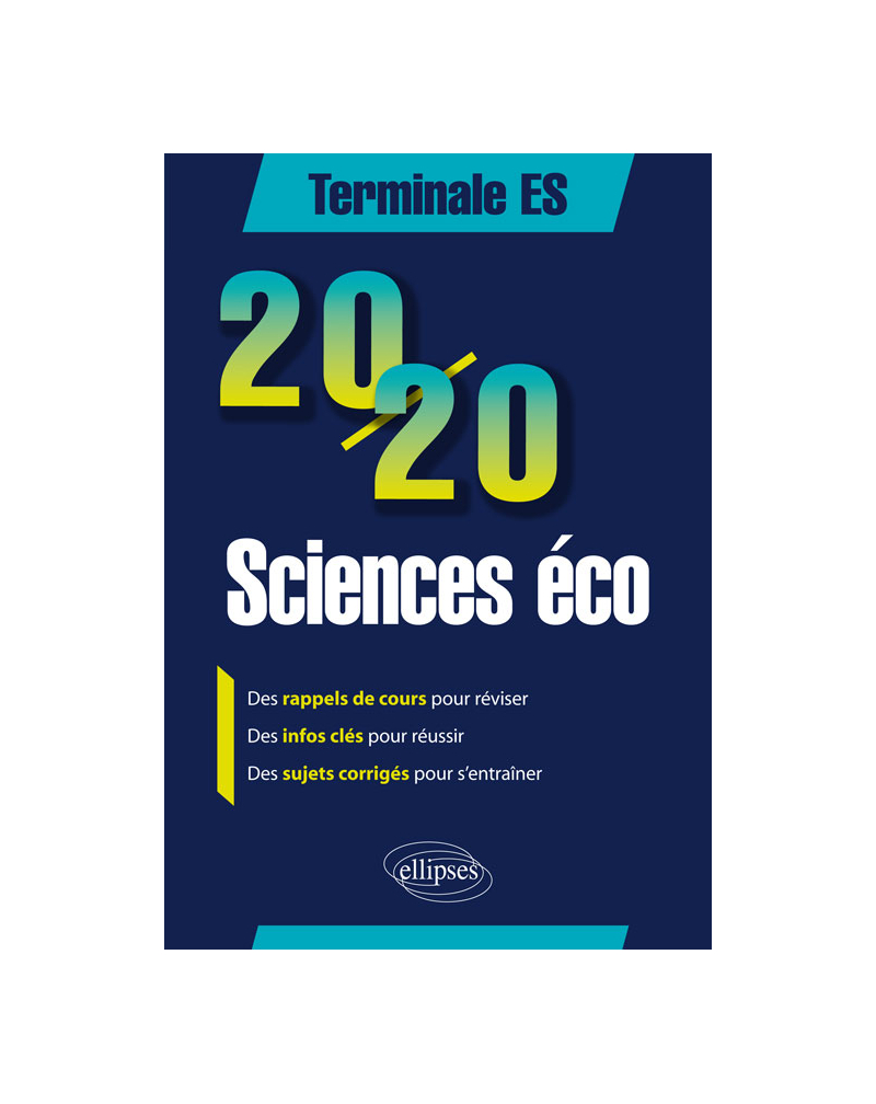 20/20 en Sciences économiques et sociales - Terminale ES