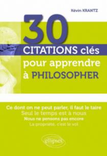 30 citations clés pour apprendre à philosopher