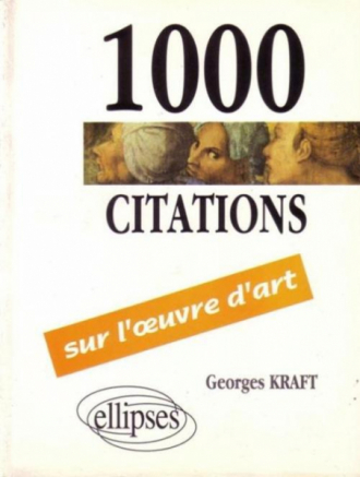 1000 citations sur l'oeuvre d'art