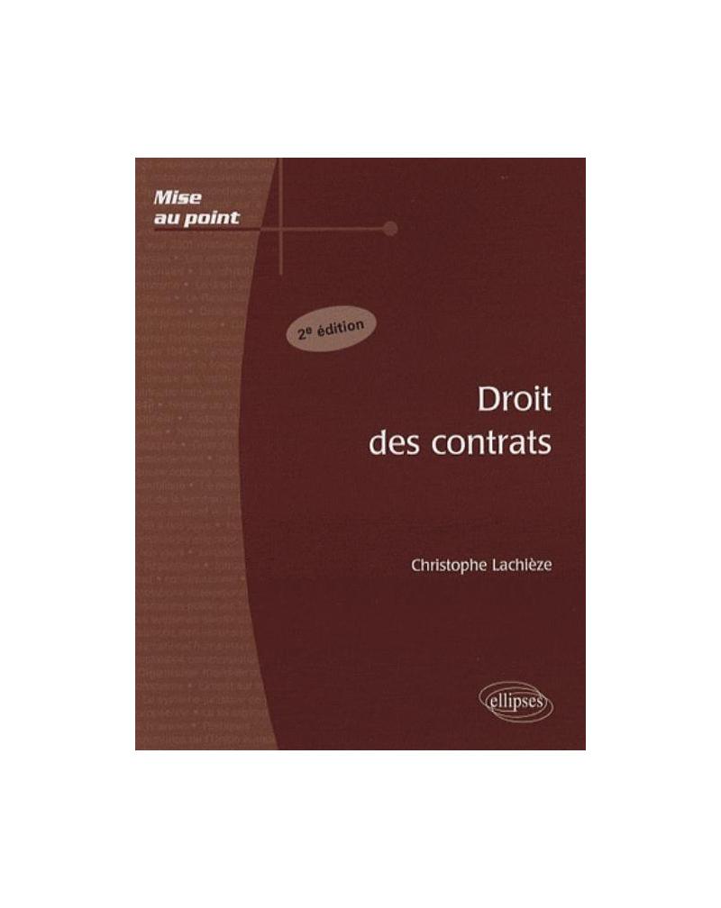 Droit des contrats. 2e édition
