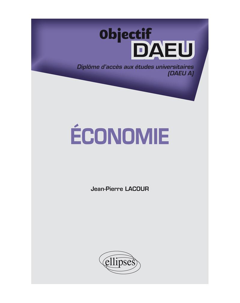 Économie - DAEU A