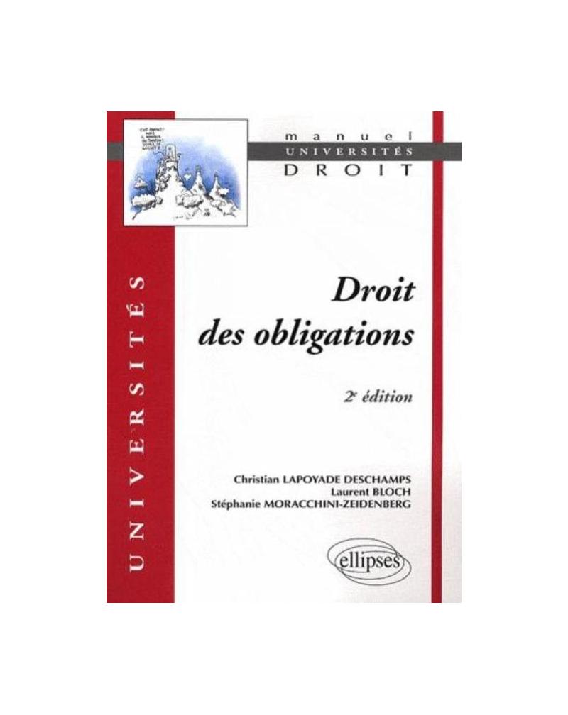 Droit des obligations. 2e édition mise à jour