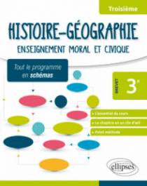 Histoire-Géographie - Troisième - Spécial Brevet - Tout le programme en schémas