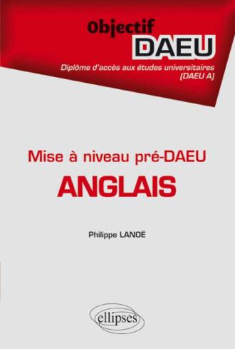 Anglais - pré-DAEU