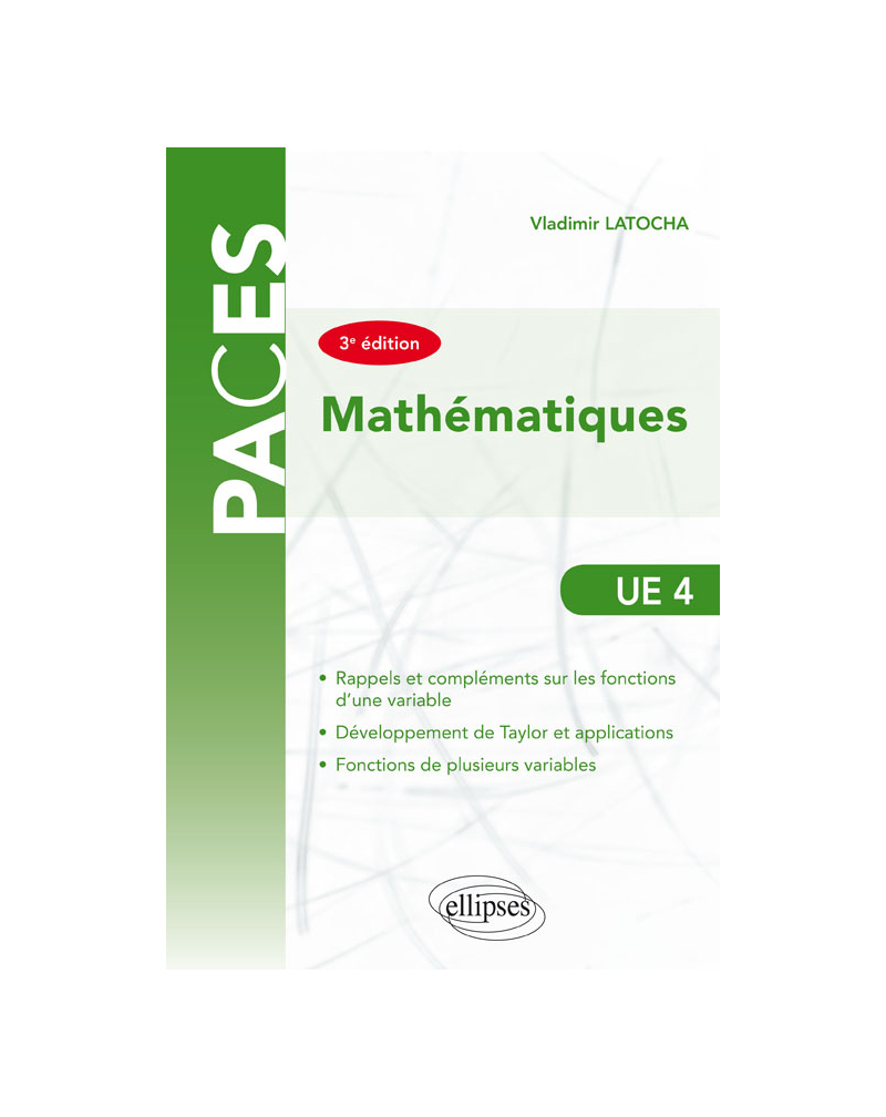 UE4 - Mathématiques - 3e édition