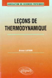 Leçons de Thermodynamique (Agrégation de sciences physiques)