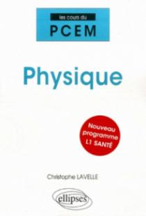 Physique. Nouveau programme L1 santé