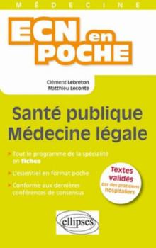 Santé publique - médecine légale