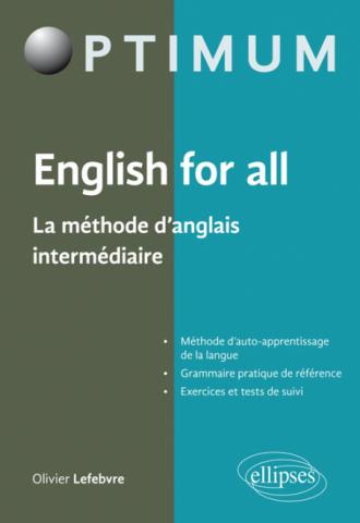 English for all - La méthode d'anglais intermédiaire