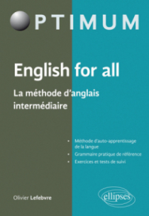 English for all - La méthode d'anglais intermédiaire