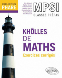 Khôlles de maths MPSI - Exercices corrigés