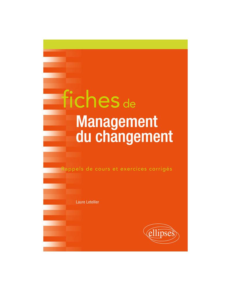 Fiches de Management du changement