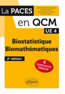 UE4 - Biostatistique - Biomathématiques - 2e édition