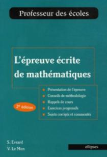 L'épreuve écrite de mathématiques, 2e édition