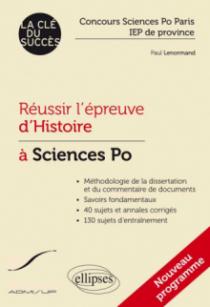 Réussir l'épreuve d'Histoire à Sciences Po