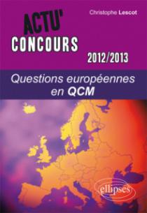 Questions européennes - 2012-2013 - en QCM