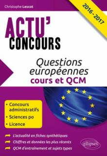 Questions européennes 2016