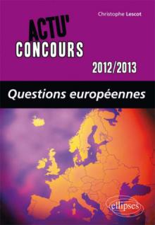 Questions européennes - 2012-2013