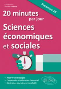 20 minutes par jour de Sciences économiques et sociales - Première ES