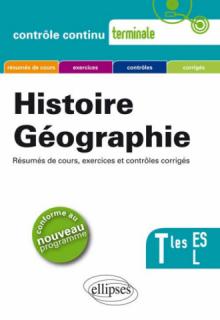 Histoire-géographie - Terminales ES et L - Nouveau programme