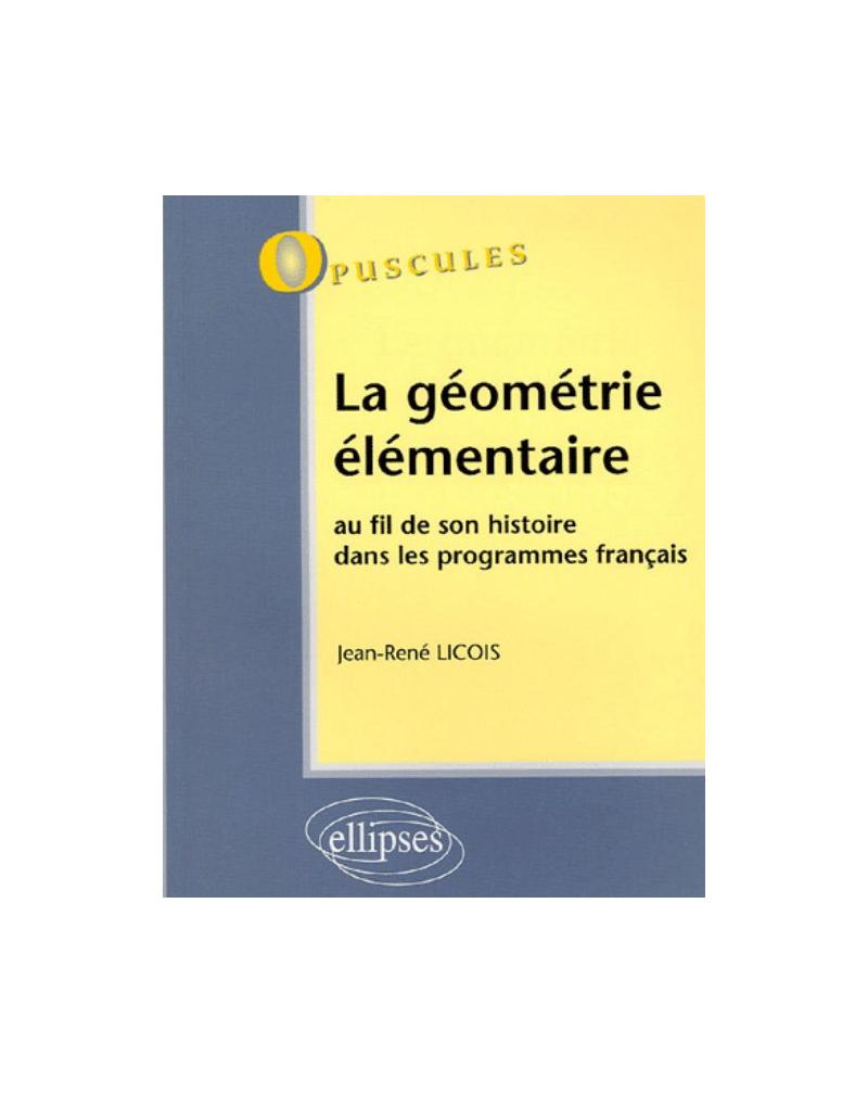 La géométrie élémentaire - N°3