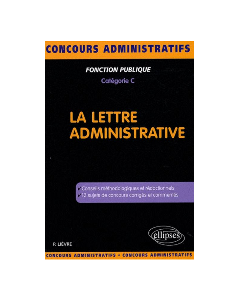La lettre administrative