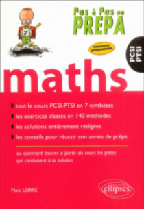 Mathématiques PCSI-PTSI