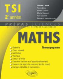 Mathématiques TSI-2 programme 2014