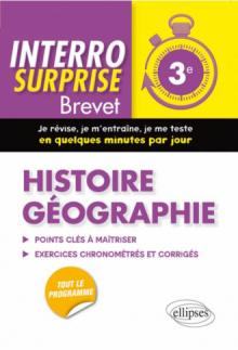 Histoire-Géographie - Troisième/Brevet