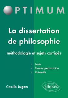 Dissertation de philosophie terminale s