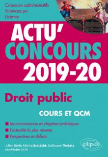 Droit public - concours 2019-2020