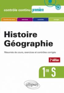 Histoire-Géographie - Première S - Nouveau programme - 2e édition