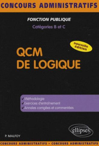QCM de logique - Catégories BC - Nouvelle édition