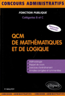 QCM de mathématiques et de logique. Nouvelle édition