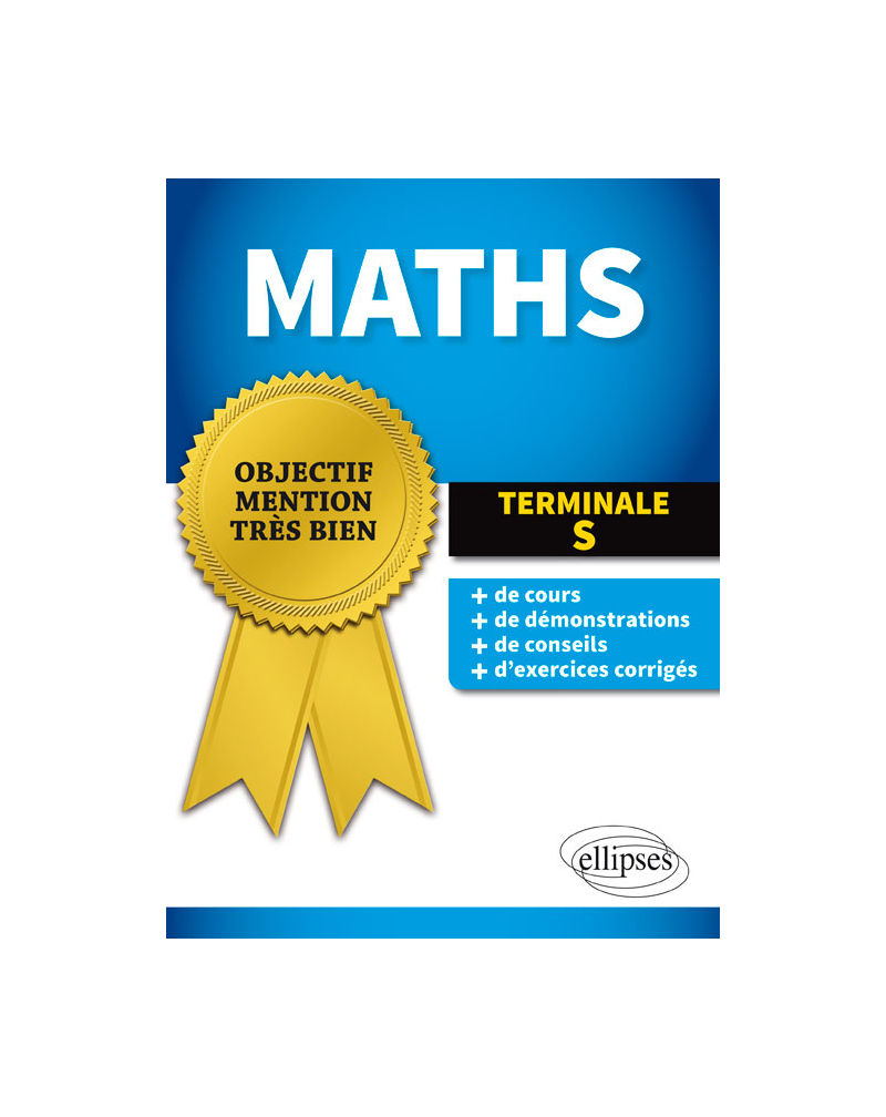 Mathématiques - Terminale S enseignements spécifique et de spécialité