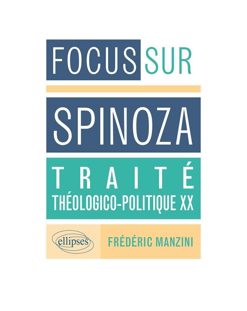 Traité théologico-politique, XX, Spinoza