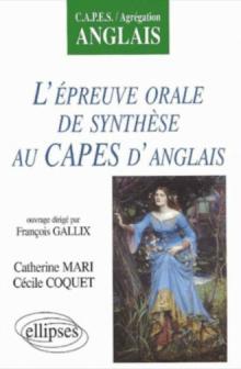 L'épreuve orale de synthèse au CAPES d'anglais