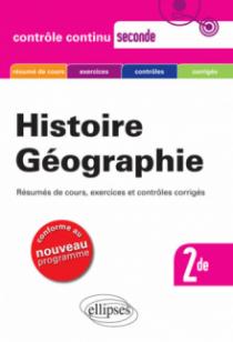 Histoire-Géographie - Seconde - nouveau programme