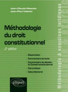 Méthodologie du droit constitutionnel, 2e édition