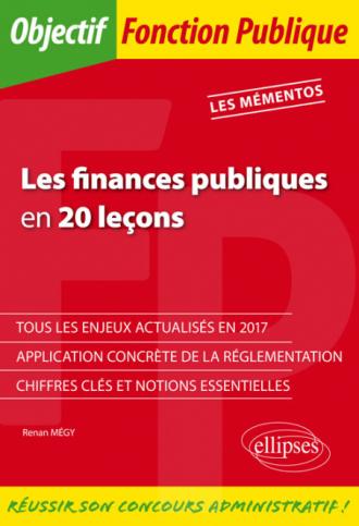 Les finances publiques en 20 leçons
